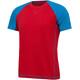 Millet M's Trilogy Delta Logo Short Sleeve Shirt rouge/light sky